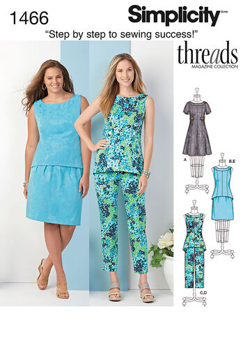 Misses' & Plus Dress, Tunic or Top, Skirt & Pants