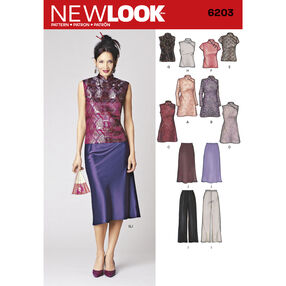New Look Pattern 6203 Misses Special Occasion Dresses