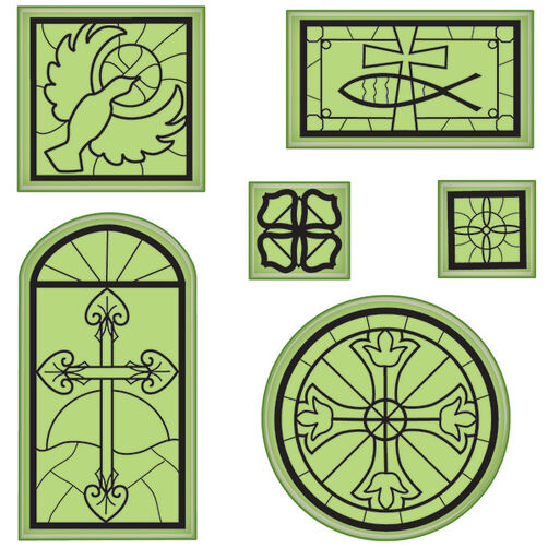 Religious Icons Cling Stamps_65-32075