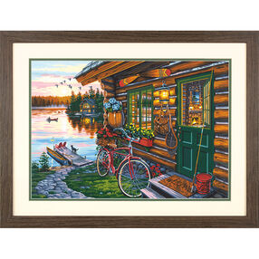 Cabin View, Paint by Number_73-91660