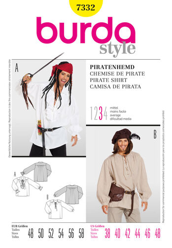 Burda Style, Pirate Shirt
