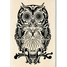 Mindscape Owl Wood Stamp_60-01053