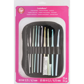 Crochetmaster Crochet Hook Set Assorted Sizes