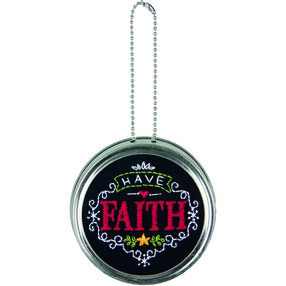 Have Faith Ornament, Embroidery_71-08930