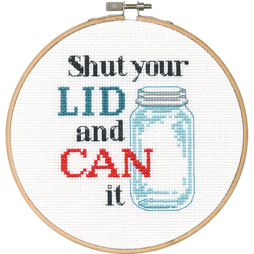 Shut Your Lid, Counted Cross Stitch_70-74637