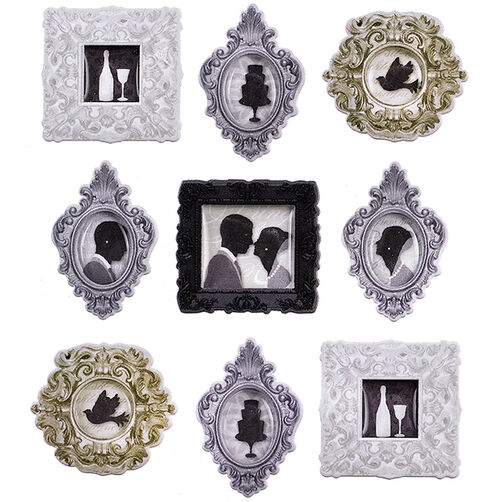 Wedding Frames Repeat Stickers_50-21670