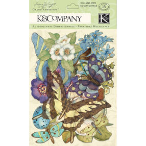 Susan Winget Botanical Die-Cut Cardstock and Acetate_30-614543
