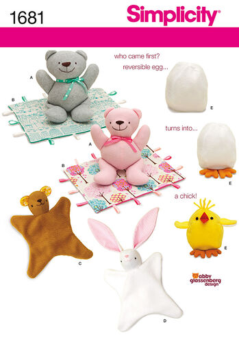 Bear, Blanket, Animal Blanket, Chick Toy
