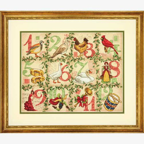 12 Days of Christmas in Counted Cross Stitch_70-08899