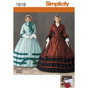 Simplicity Pattern 1818 Misses' Costume