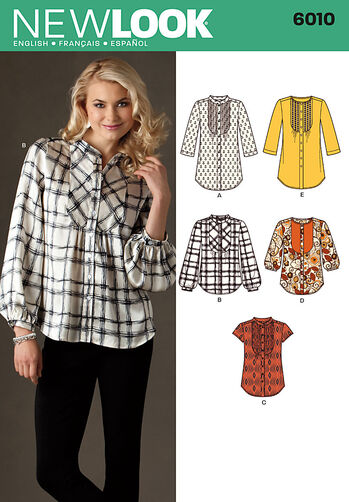 Misses' Tunic or Top