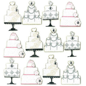 Wedding Cake Repeat Stickers _50-20793