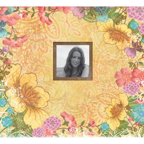 Abrianna 12x12 Floral Scrapbook_30-618473