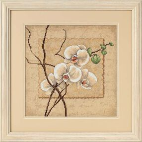 Oriental Orchids, Counted Cross Stitch_35176