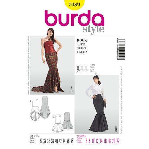 Burda Style Pattern 7089 Skirt