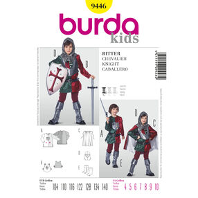 Burda Style Pattern 9446 Historical Chevalier