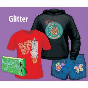 Easy Image Glitter Transfer Paper: Dark Fabrics_56-47017