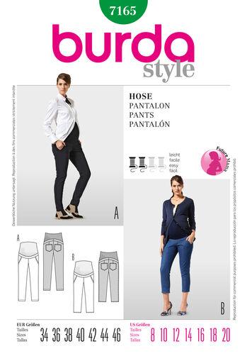 Burda Style Pants