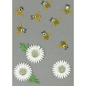 Bumblebee and Daisy Embellishments_50-00450