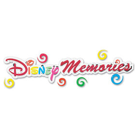 Disney Memories Title Sticker_DJTM004