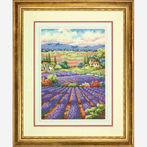Fields of Lavender Counted Cross Stitch_70-35299