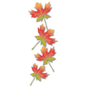 Maple Leaves Stickers_JJNA019B