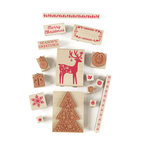 Scandinavian Wooden Stamp Set_40-20001