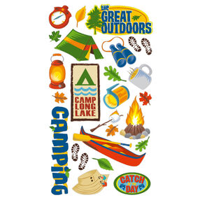 The Great Outdoors stickers _52-60109