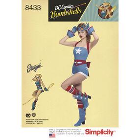 Pattern 8433 Misses' DC Comics Bombshell Stargirl Costume