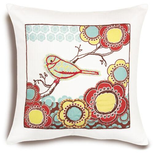 Bird on Branch Pillow_72-73570