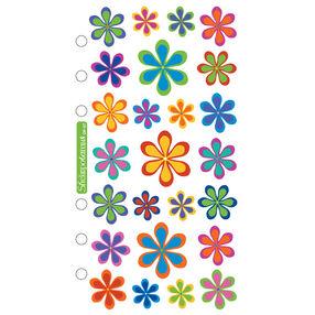 Classic Stickers Funky Flowers_SPOP07