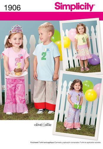 Toddlers' Skirts & Pants