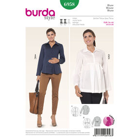Burda Style Pattern 6958 Maternity Wear