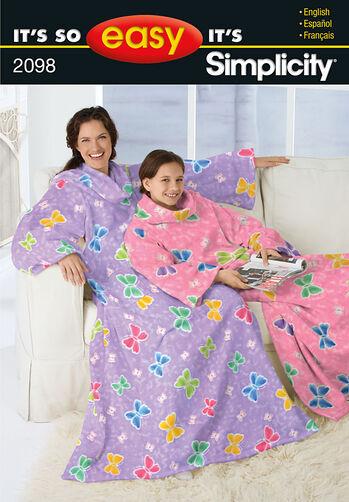 It's So Easy Lounge Blankets