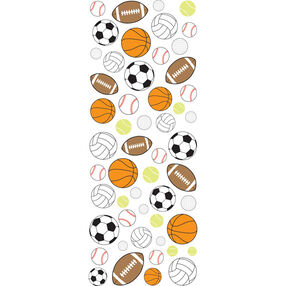 Sporty Balls Puffy Stickers_53-90003