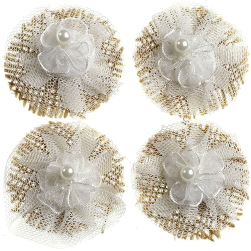 Lace Flowers Embellishments_50-21635