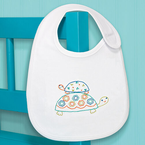 Turtles Bib in Embroidery_70-73962