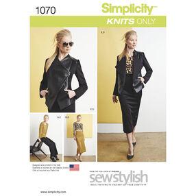 Simplicity Pattern 1070 Misses' Sew Stylish Sportswear Pattern