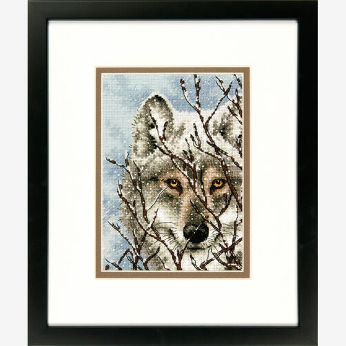 Wolf Counted Cross Stitch_70-65131