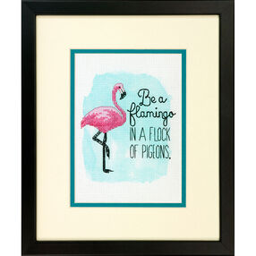 Be a Flamingo, Counted Cross Stitch_70-65168