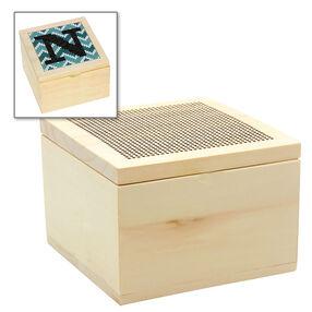Wood Trinket Box Blank, Counted Cross Stitch_72-75223