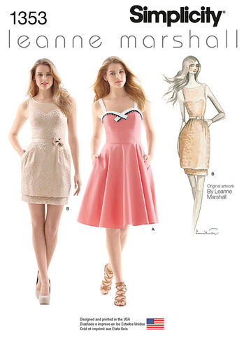 Misses' Dresses Leanne Marshall Collection