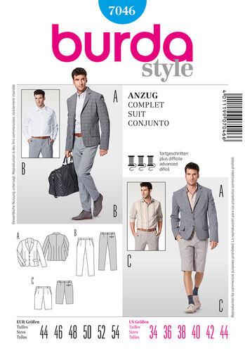 Burda Style Pattern 7046 Suit