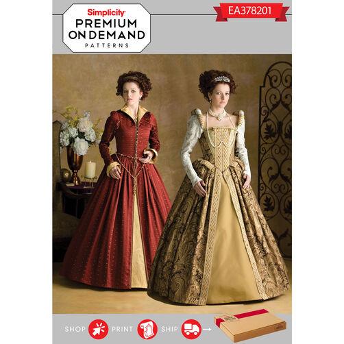 Ea378201 premium print on demand costume pattern for Premium on demand