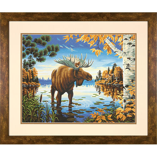 Majestic Moose, Paint by Number_73-91453