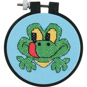 Friendly Frog, Stamped Cross Stitch_72531