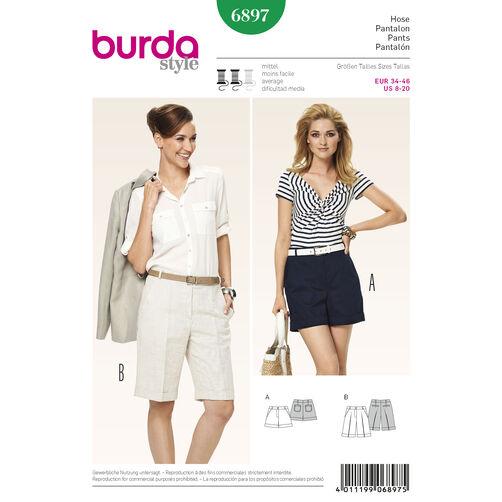 Burda Style Pattern 6897 Pants