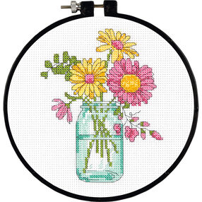 Summer Flowers, Counted Cross Stitch_72-74550