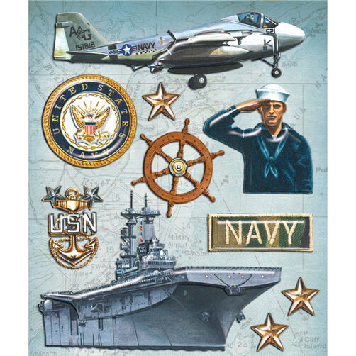 Navy Sticker Medley_30-587991