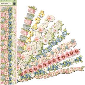 Susan Winget Floral Flower Adhesive Borders_30-663343